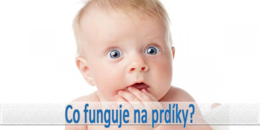 Co na prdíky u novorozenců?