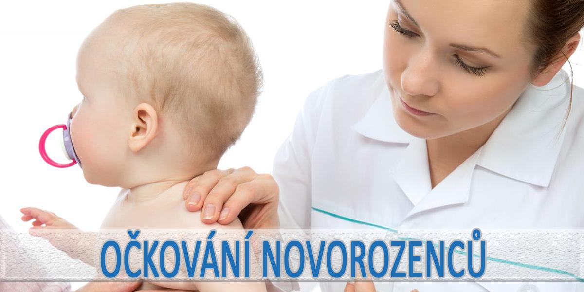 Kdy je první očkování novorozence