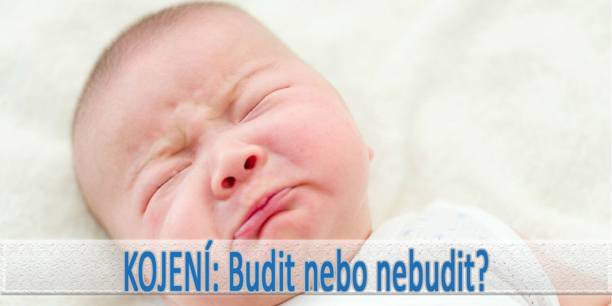 Budit novorozence na kojení?