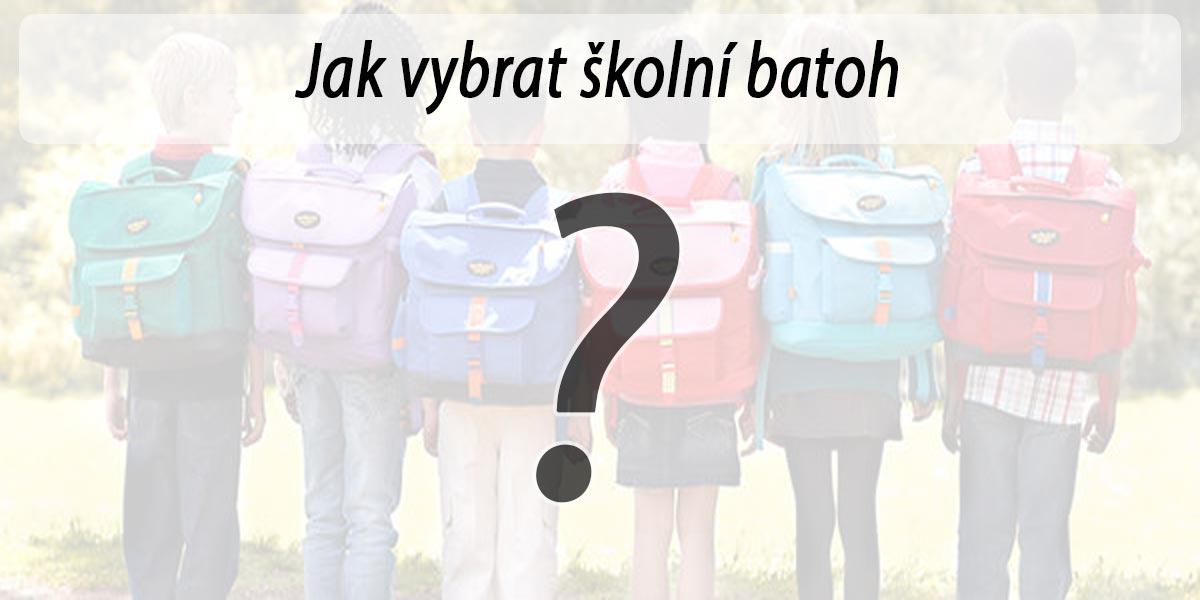 Lehké školní batohy jsou vhodné nejen pro prvňáčky