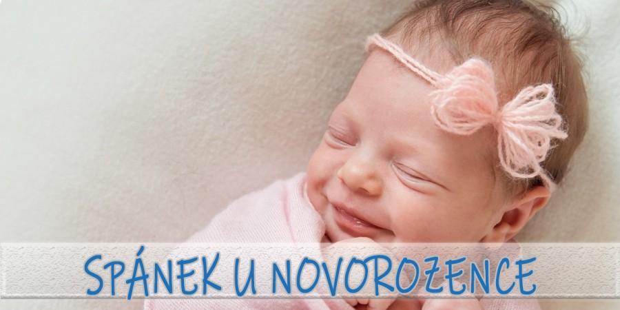Jak dlouho spí novorozenec?