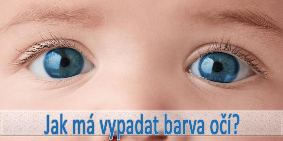 Barva očí u novorozence